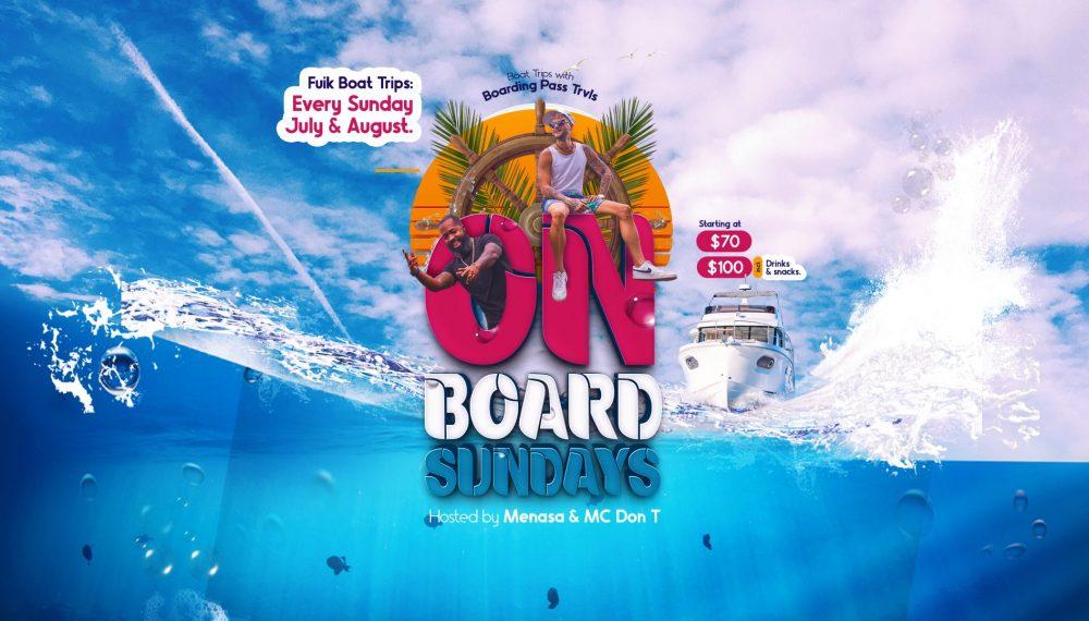 ONboard sundays website